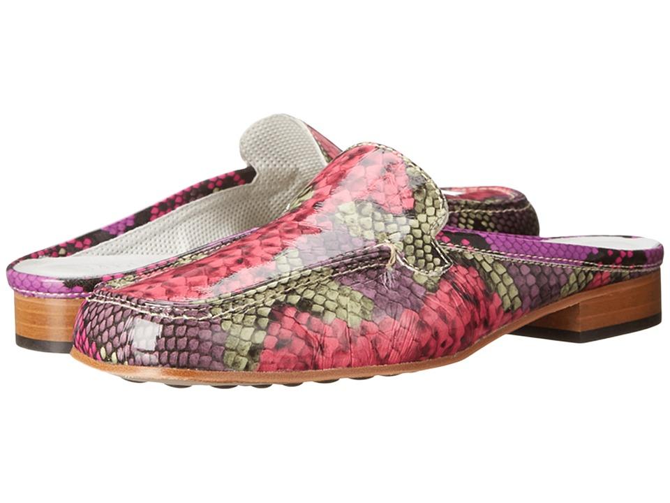 Sesto Meucci - Moyna (Magenta ECS Super Patent Print) Women's Clog Shoes