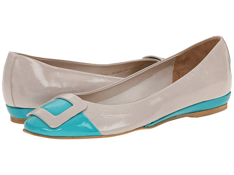 Sesto Meucci - Stina (Pale Pink Patent/Turquoise Patent) Women's Shoes