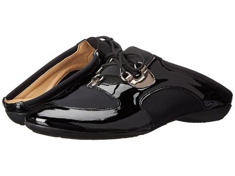 Sesto Meucci - Brenda (Black Magenta Patent/Black Nitry) Women's Slip on Shoes