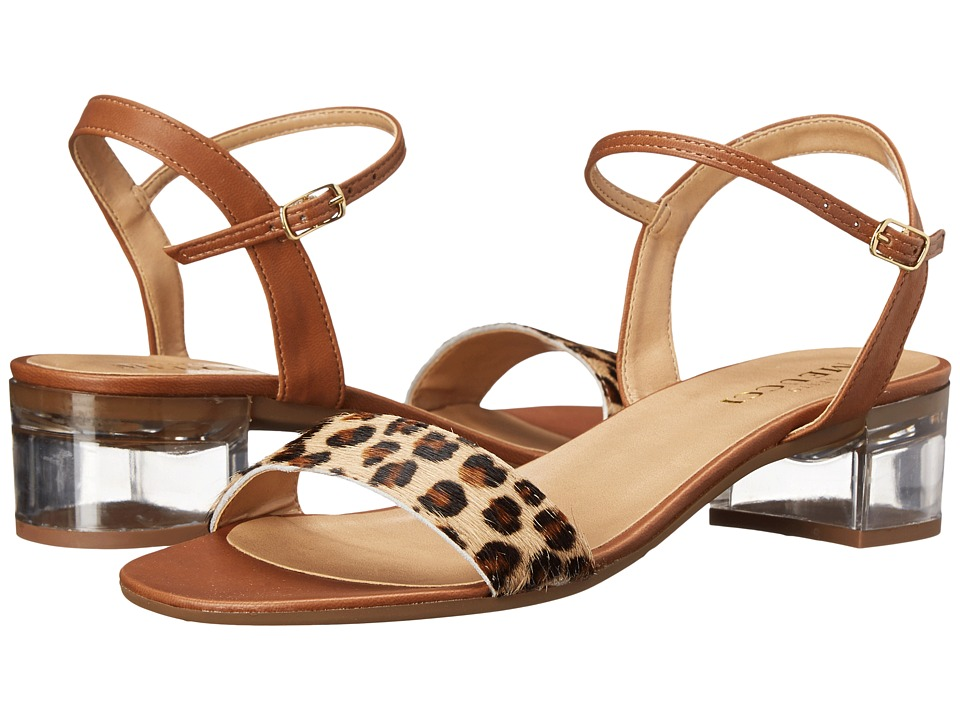 Sesto Meucci - Akela (Camel Leo Haircalf) Women's Dress Sandals