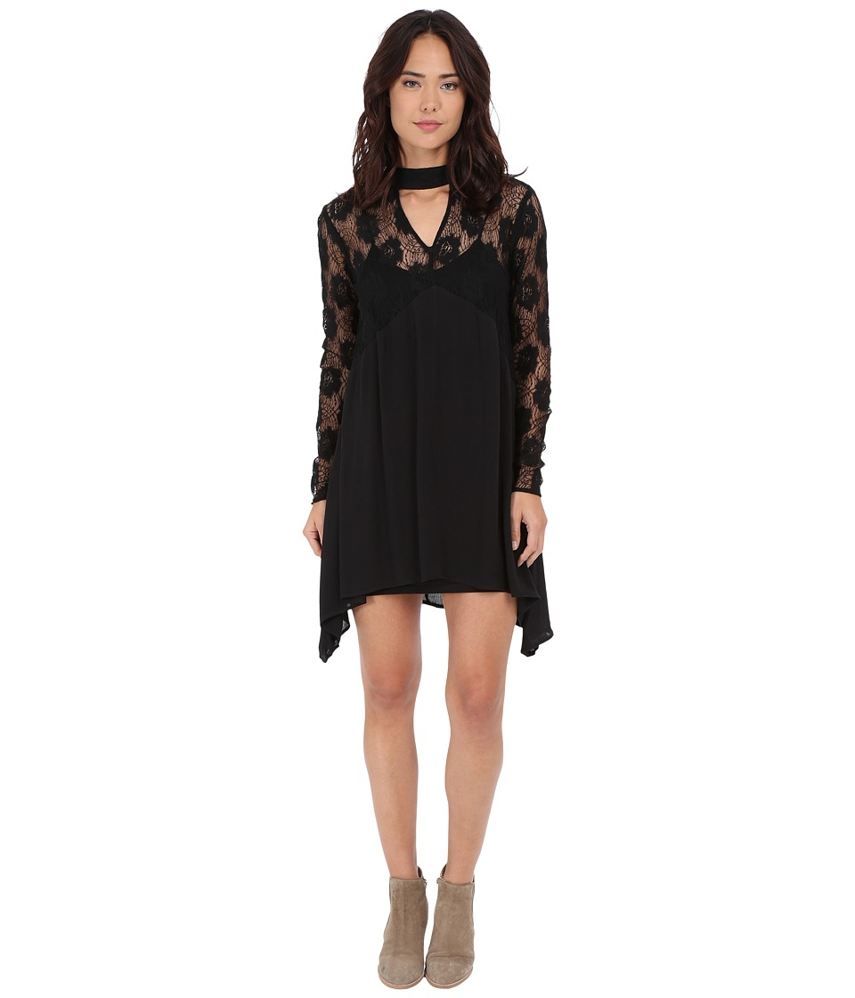 Volcom - Nowhere Fast Dress (Black) Women's Dress