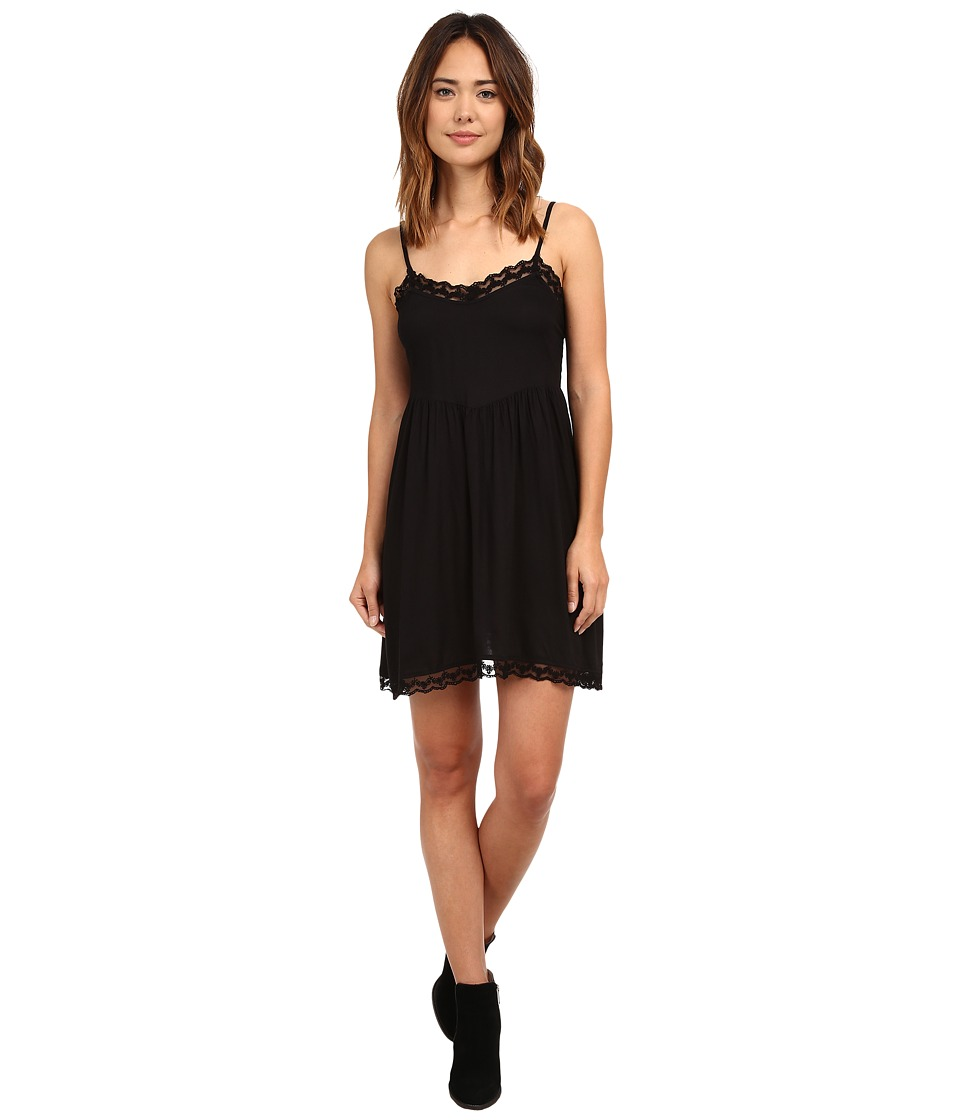 Volcom - Untold Beauty Dress (Black) Women's Dress