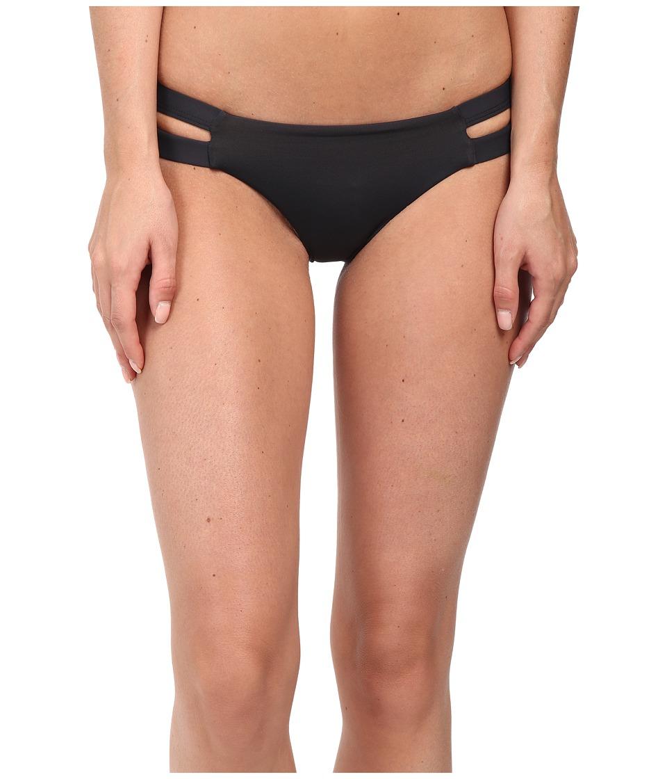Billabong - Sol Searcher Isla Bottoms (Off Black) Women's Swimwear