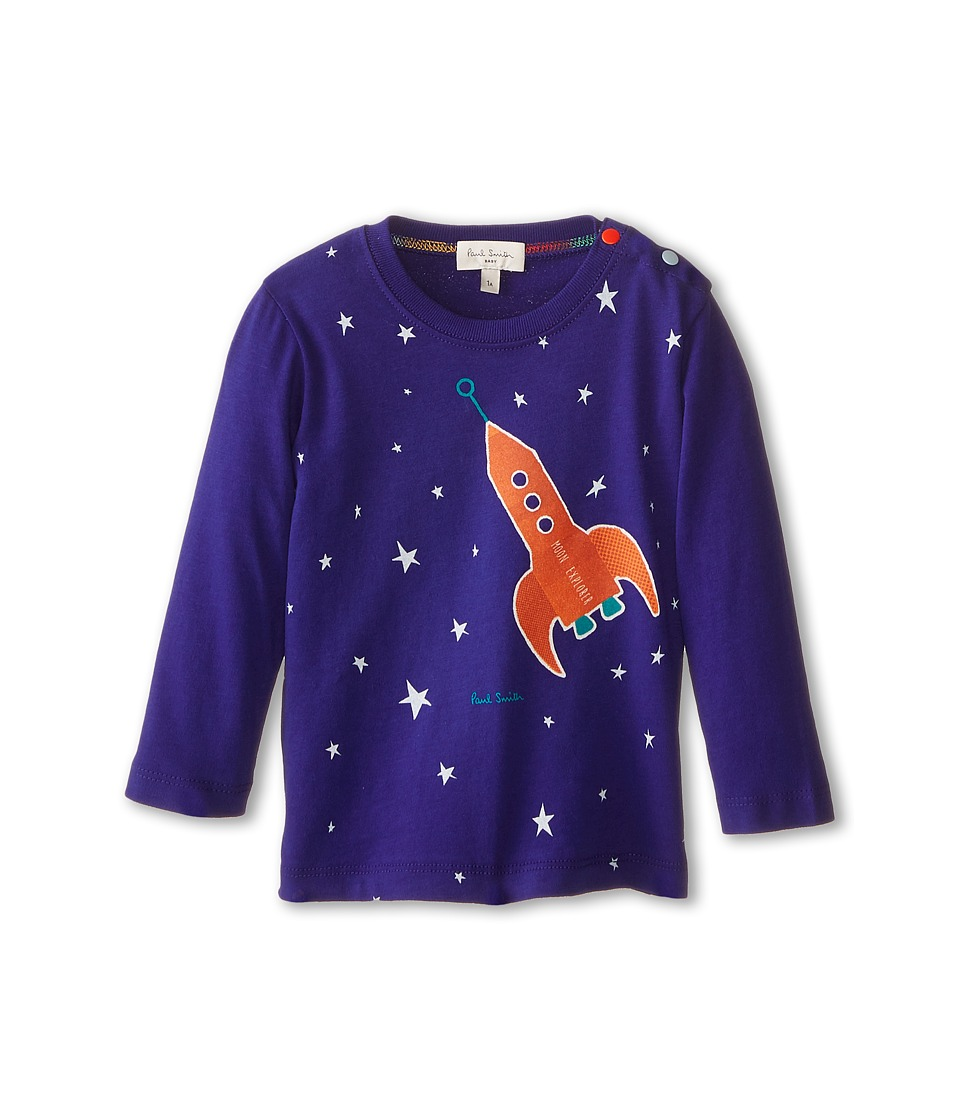 Paul Smith Junior - Glow in the Dark Stars T-Shirt (Infant/Toddler) (Regatta Blue) Boy