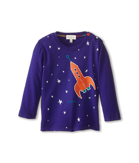 Paul Smith Junior - Glow in the Dark Stars T-Shirt (Infant/Toddler) (Regatta Blue) Boy's T Shirt