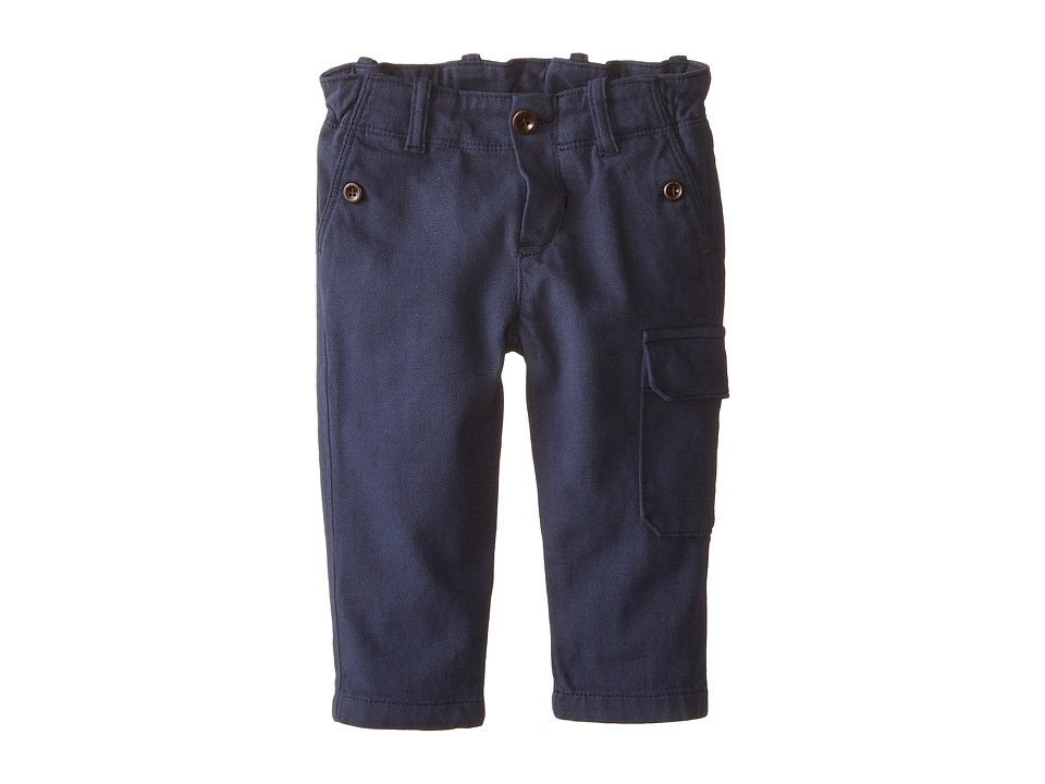 Paul Smith Junior - Navy Cargo Pants (Infant/Toddler) (Dark Navy) Boy's Casual Pants