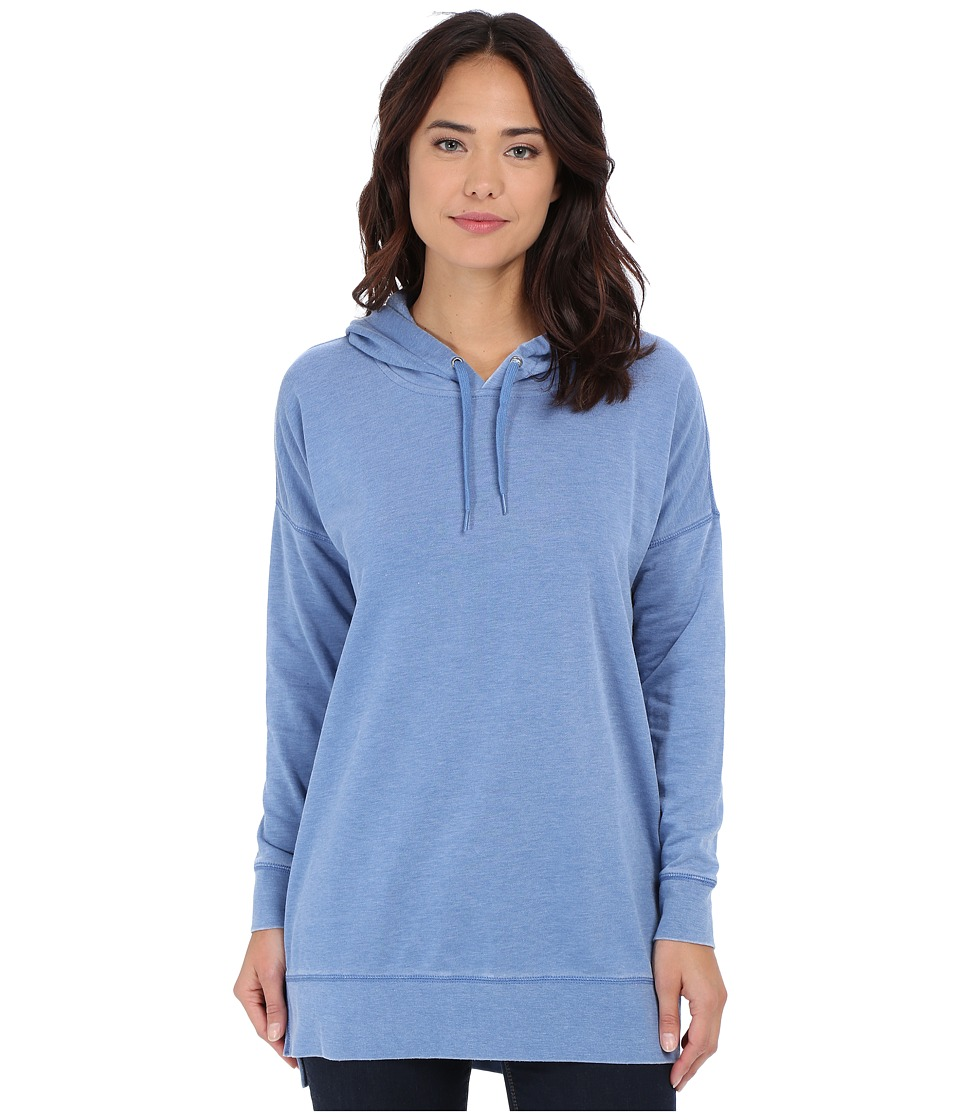 Volcom - Lived in Fleece Long Pullover (Royal) Women's Long Sleeve Pullover