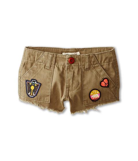 Billabong Kids - Peace Patch Woven Shorts (Little Kids/Big Kids) (Seagrass) Girl