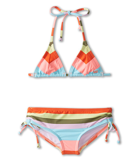 Billabong Kids - Aloha Love Tri Swimsuit (Little Kids/Big Kids) (Multi) Girl's Swimsuits One Piece
