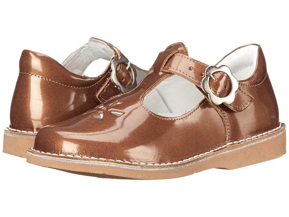 Kid Express - Molly (Toddler/Little Kid/Big Kid) (Bronze Patent) Girls Shoes
