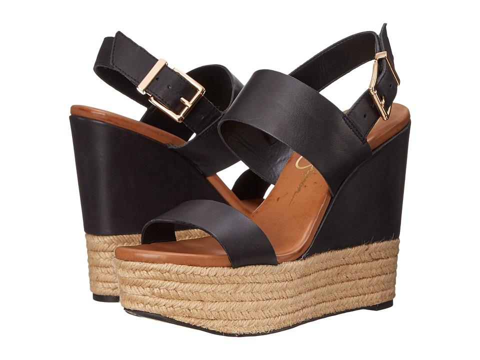 Jessica Simpson - Allyn (Black Mari Buff) Women's Wedge Shoes