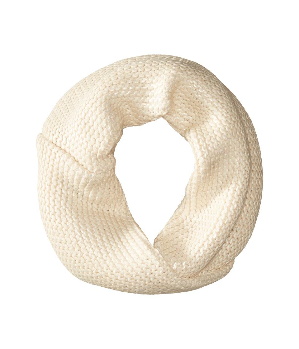 BCBGMAXAZRIA - Foil Printed Twisted Cowl (Foam) Scarves