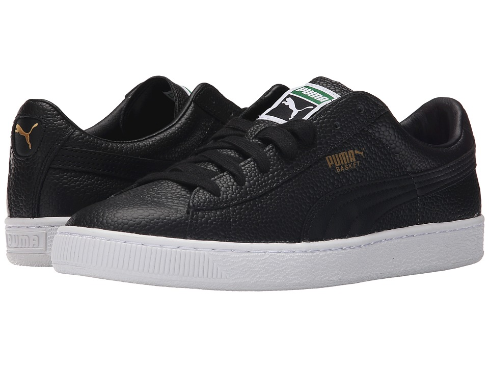 PUMA - Basket 3D Fast FWD (Black) Men's Shoes