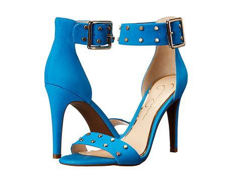 Jessica Simpson - Elonna 2 (Electric Blue Elko Nubuck) High Heels