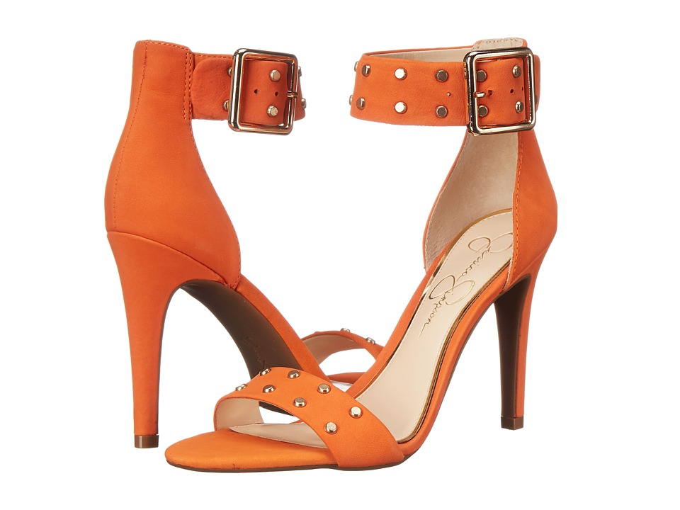 Jessica Simpson - Elonna 2 (Juicy Orange Elko Nubuck) High Heels