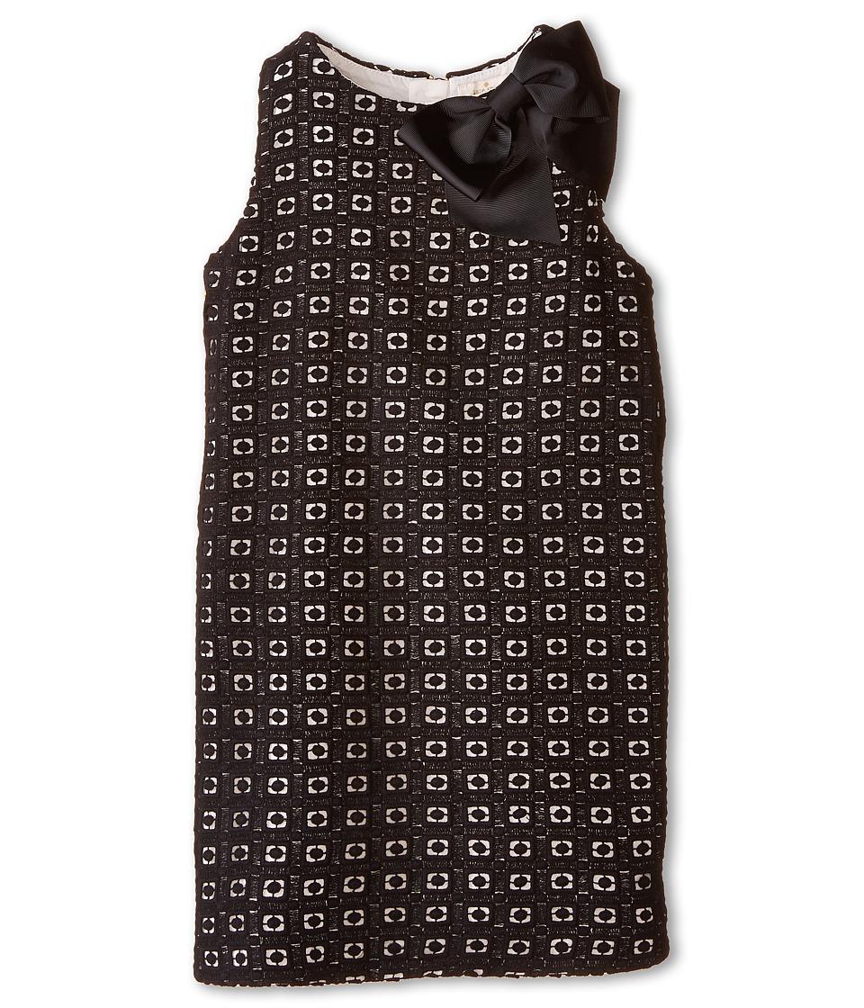 Kate Spade New York Kids - Guippure Lace Dress (Big Kids) (Black/Cream) Girl's Dress