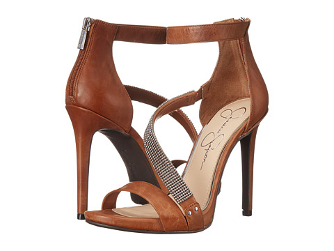Jessica Simpson - Richella (Light Luggage Ruby Tumbled) High Heels