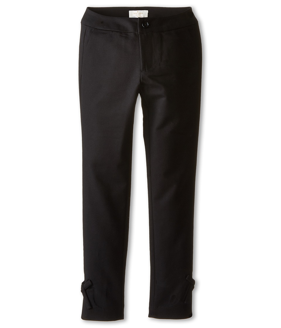 Kate Spade New York Kids - Bow Pants (Big Kids) (Black) Girl's Casual Pants
