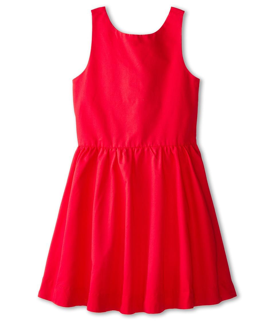 Kate Spade New York Kids - Tanner Dress (Big Kids) (Red) Girl's Dress
