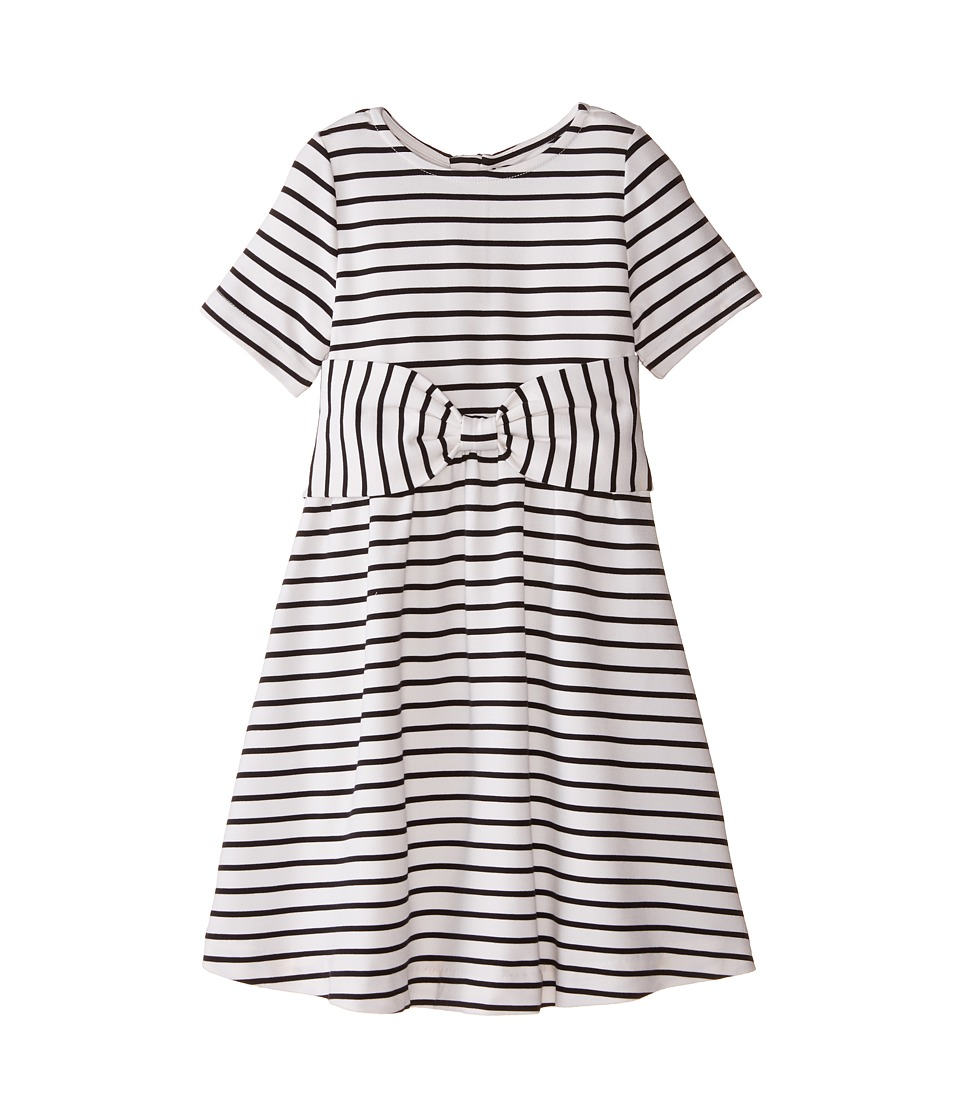 Kate Spade New York Kids - Kammy Dress (Big Kids) (Black/Cream) Girl's Dress