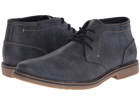 Report - Madisin (Navy) Men's Lace-up Boots