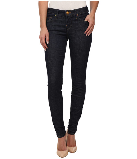 True Religion - Halle Lonestar Skinny Jeans in Midnight Blue (Midnight Blue) Women's Jeans