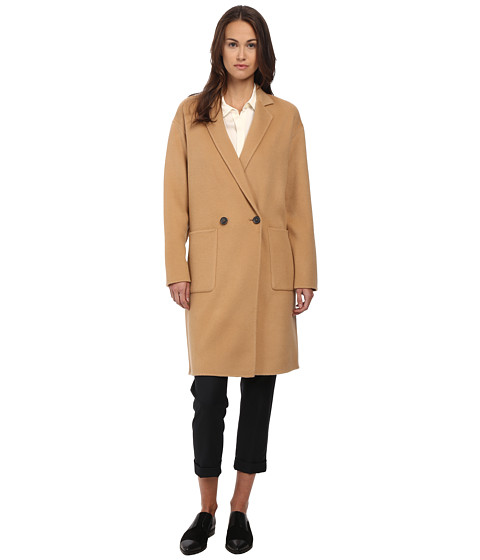 Theory - Elektan Coat (Camel) Women's Coat