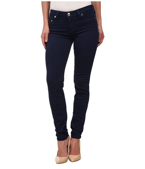 True Religion - Halle Super Skinny Jeans Leggings in Dark Navy (Dark Navy) Women