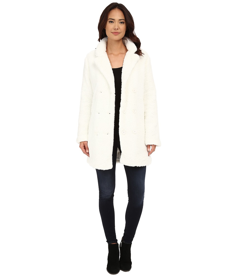 RVCA - Warm Me Up Jacket (Vintage White) Women's Coat