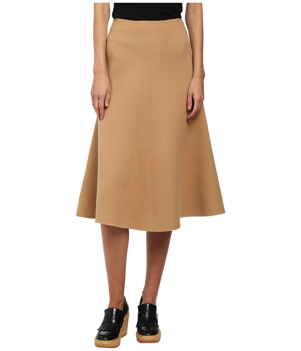 Theory - Uthema Skirt (Camel) Women's Skirt