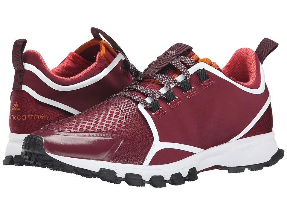 Image of adidas by Stella McCartney - Adizero Xt (Dark Wine-Smc/Dark Wine-Smc/Pomegranite-Smc) Women's Running Shoes