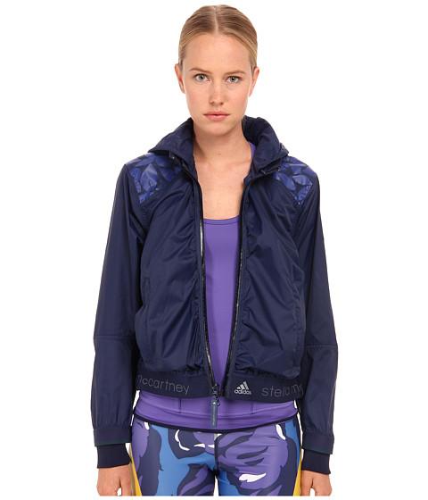 adidas by Stella McCartney - Printed Run Jacket AA8266 (Ink Navy) Women's Workout