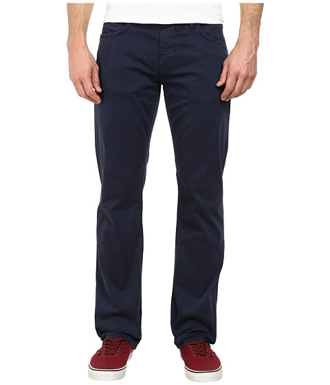 Mavi Jeans - Zach Straight Leg in Faded Navy Twill (Faded Navy Twill) Men