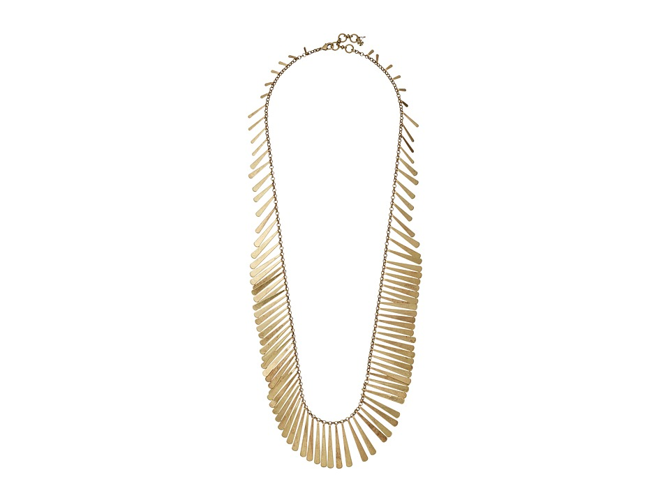 Lucky Brand - Modern Metal Necklace (Gold 1) Necklace