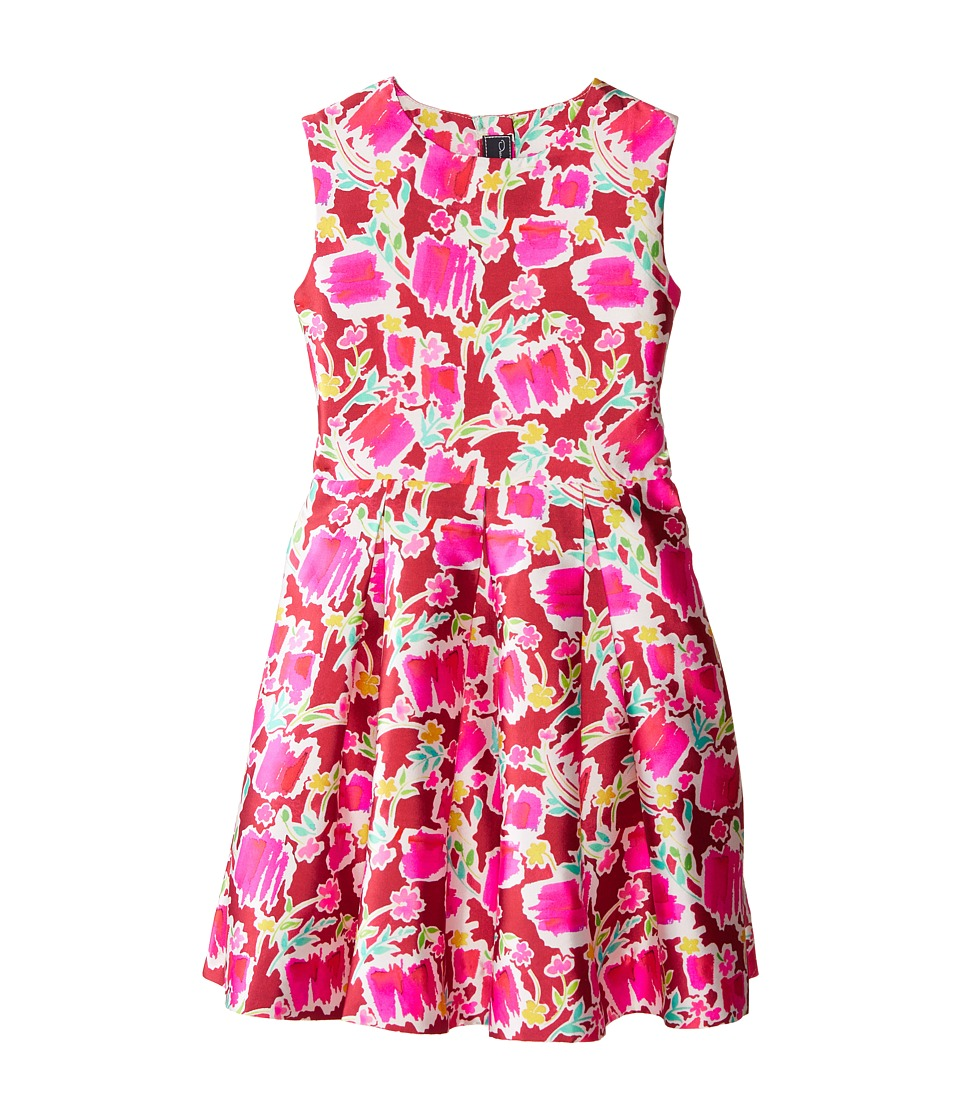 Oscar de la Renta Childrenswear Blossom Sketch Dress