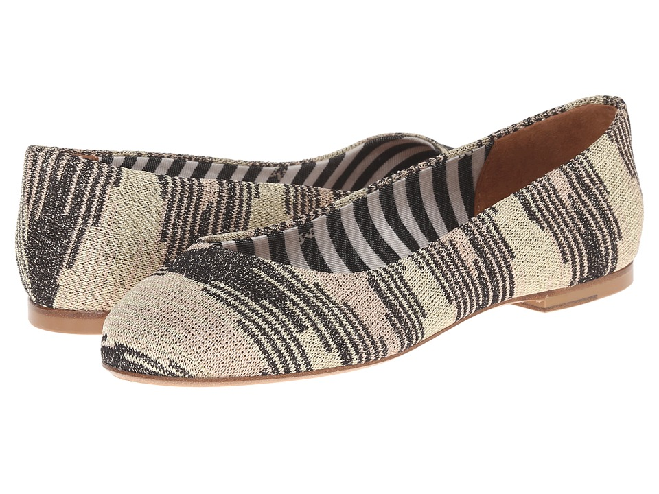 M Missoni Lurex Spacedye Shoe (Gold) Women