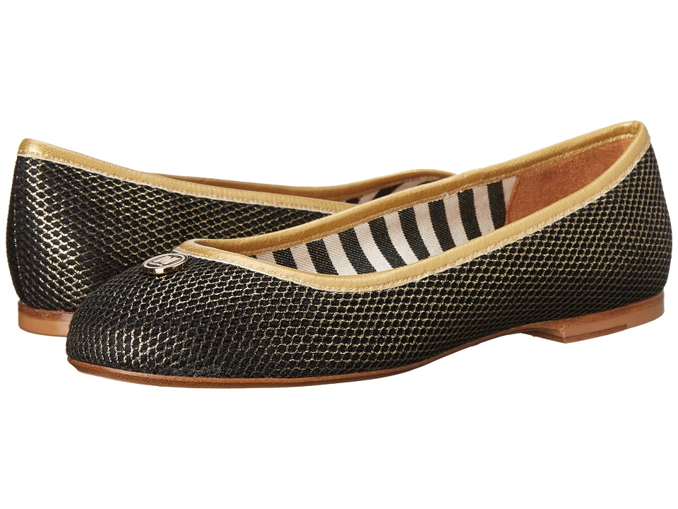 M Missoni - Lurex Mesh Shoe (Gold) Women's Slip on Shoes
