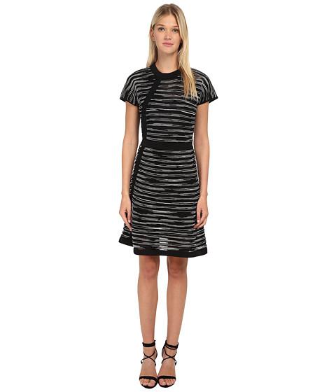 M Missoni - Spacedye Cap Sleeve Dress (Black) Women