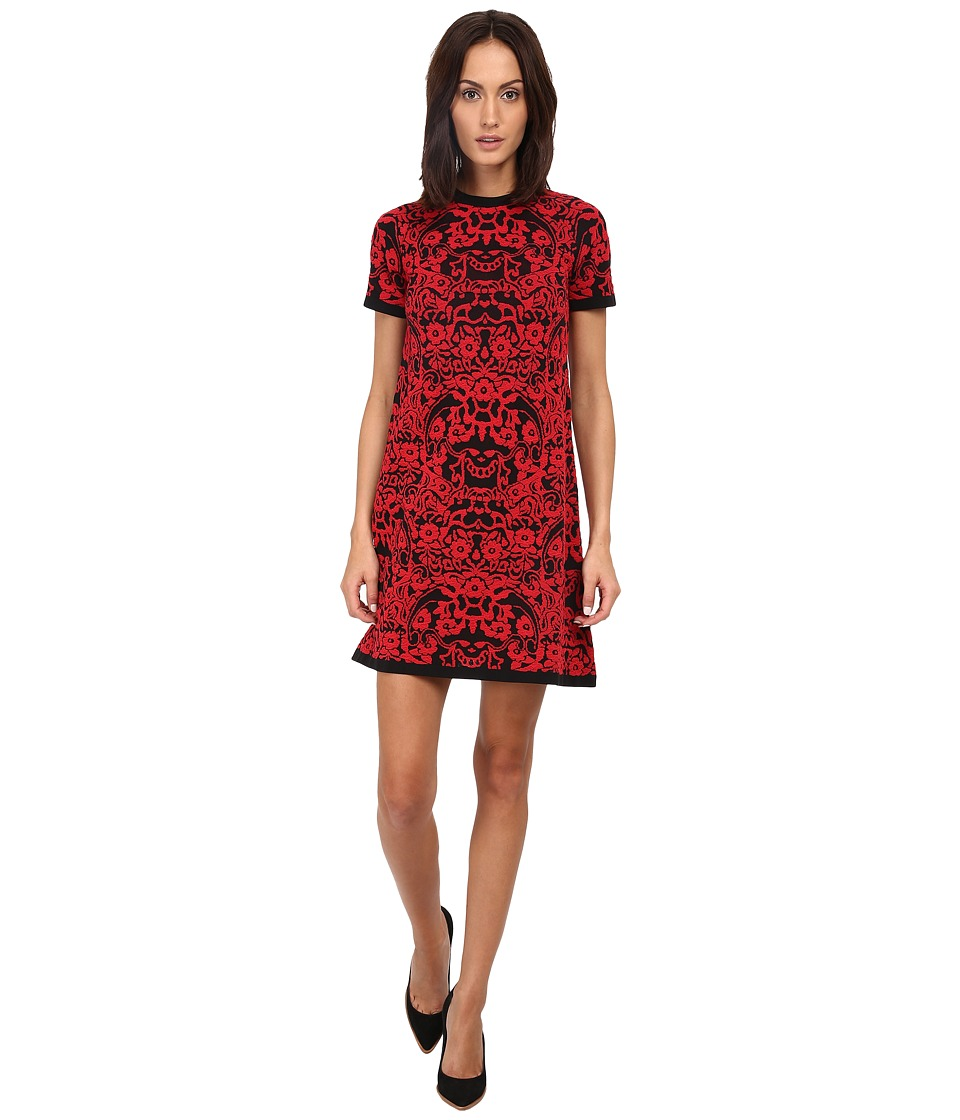 M Missoni - Chinese Floral Jacquard Dress (Red) Women