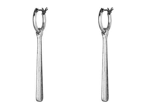 Lucky Brand - Silver Paddle Earrings (Silver) Earring
