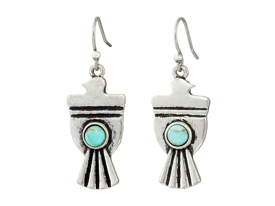 Lucky Brand - Silver Bird Earrings (Silver) Earring