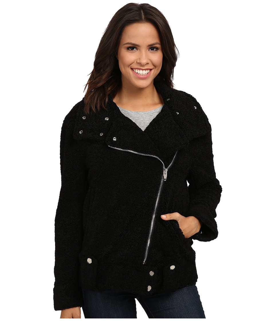 Blank NYC - Sherpa Jacket (Black) Women's Coat