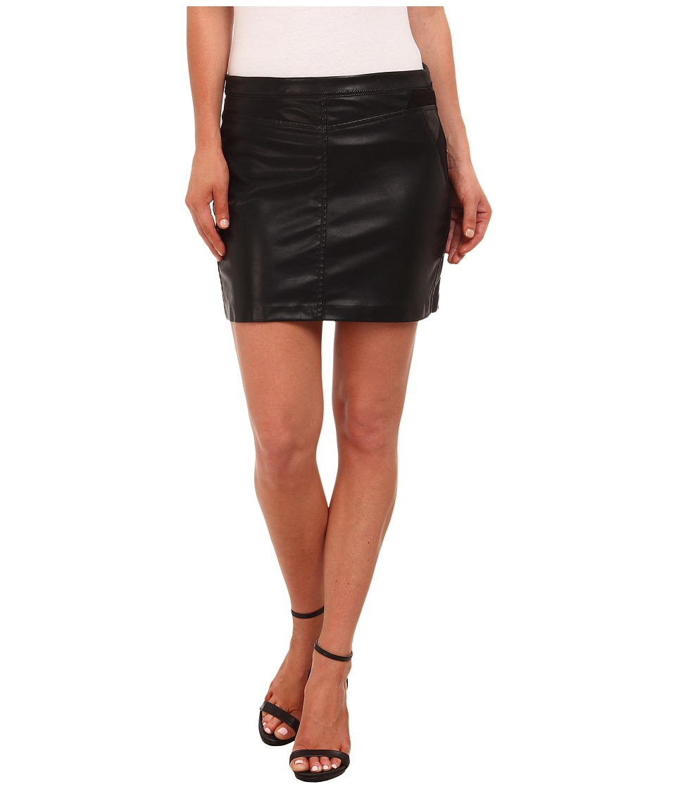 Blank NYC - Vegan Leather Mini Skirt (Black) Women's Skirt
