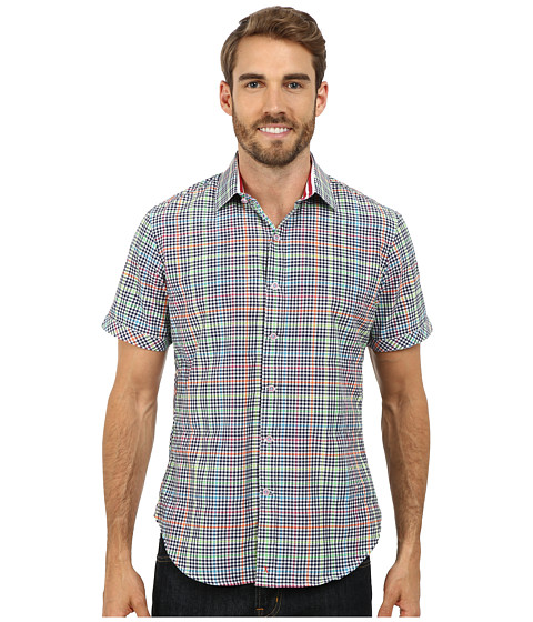 Robert Graham - Hot Spot Short Sleeve Woven Shirt (Multi) Men's Short Sleeve Button Up