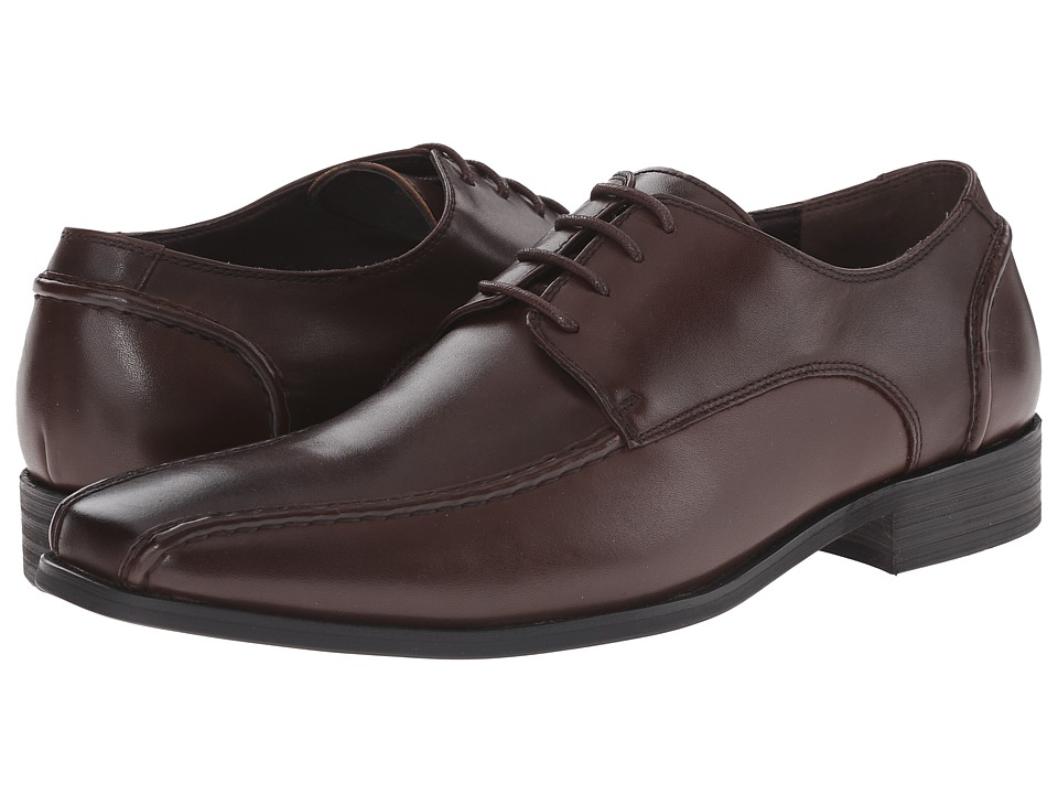 Steve Madden - Centrall (Brown Leather) Men