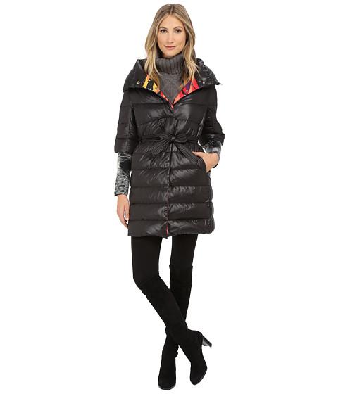 M Missoni - Solid Long Puffer (Black) Women's Clothing