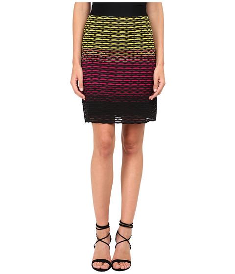 M Missoni - Gradiant Fan Skirt (Fuchsia) Women
