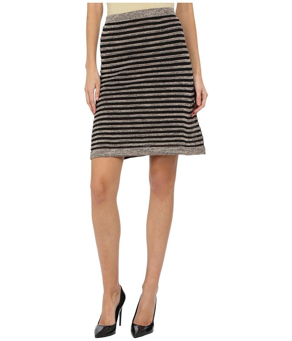 M Missoni - Ribbed Mesh Lurex Skirt (Platinum) Women's Skirt