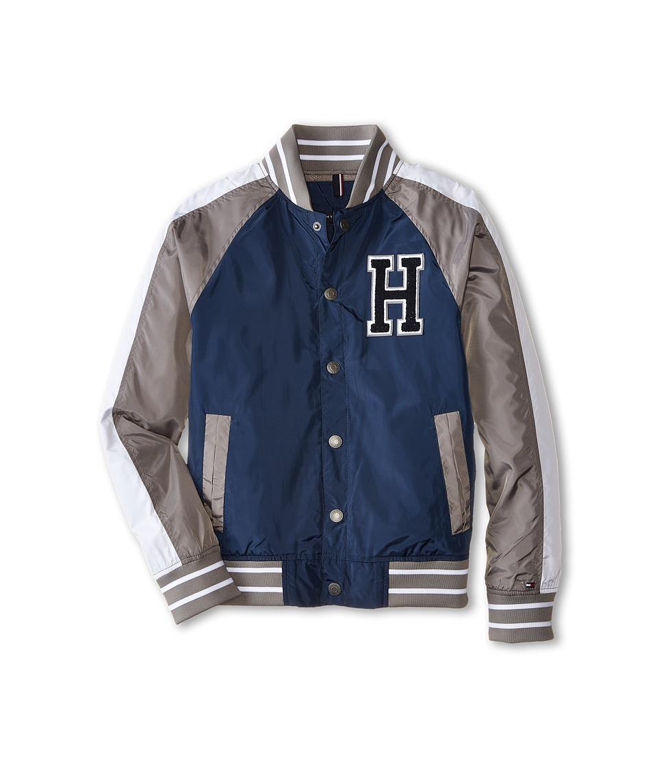 Tommy Hilfiger Kids - Baseball Jacket (Big Kids) (Swim Navy) Boy's Coat