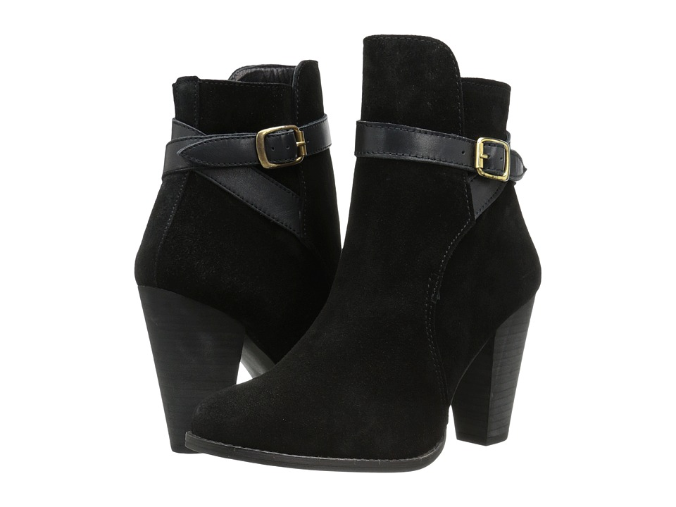 Dune London - Quill (Black Suede) Women's Shoes
